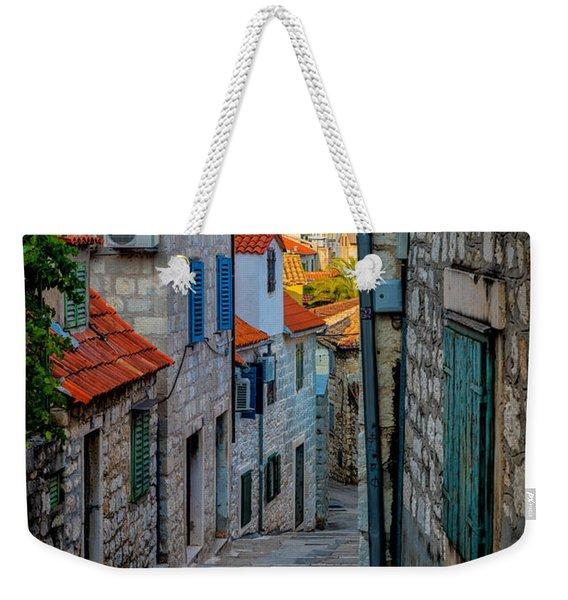 Split From Marjan Hill Weekender Tote Bag