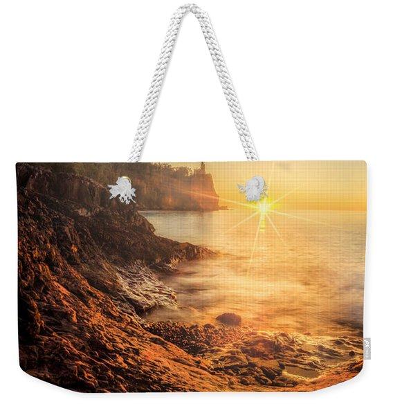 Split Rock Glory Weekender Tote Bag