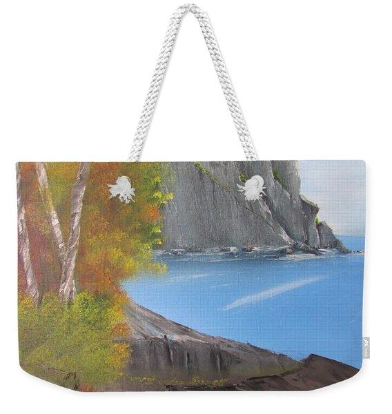 Split Rock Lighthouse Minnesota Weekender Tote Bag