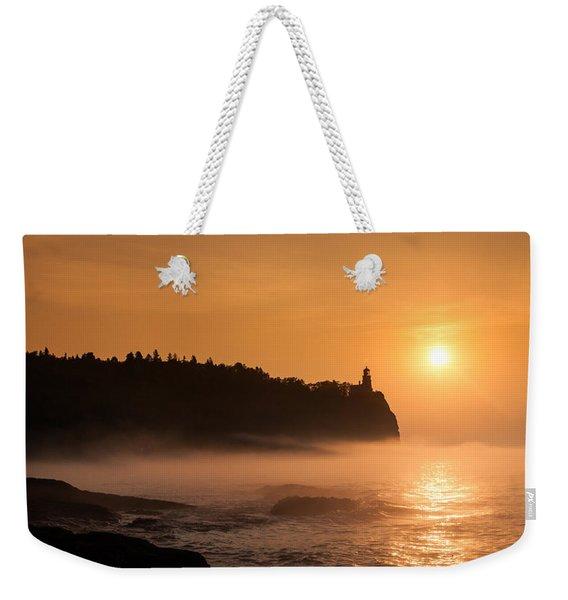 Split Rock's Morning Glow Weekender Tote Bag
