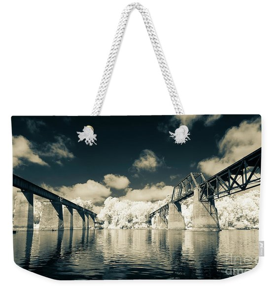 Congaree Trestles Cayce, Sc Weekender Tote Bag