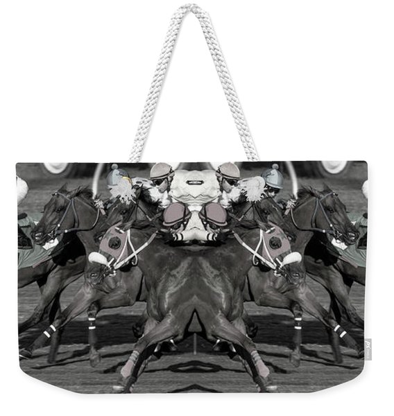 Splitting Hairs Weekender Tote Bag