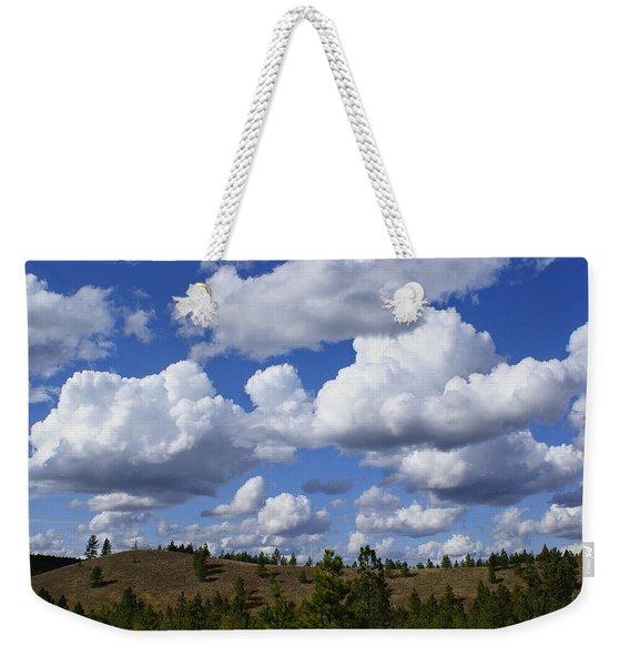 Spokane Cloudscape Weekender Tote Bag