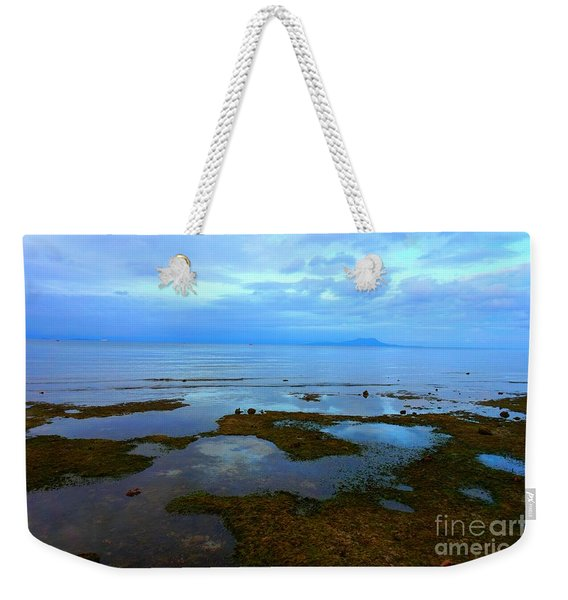 Spooky Morning Tide Receded From Beach Weekender Tote Bag