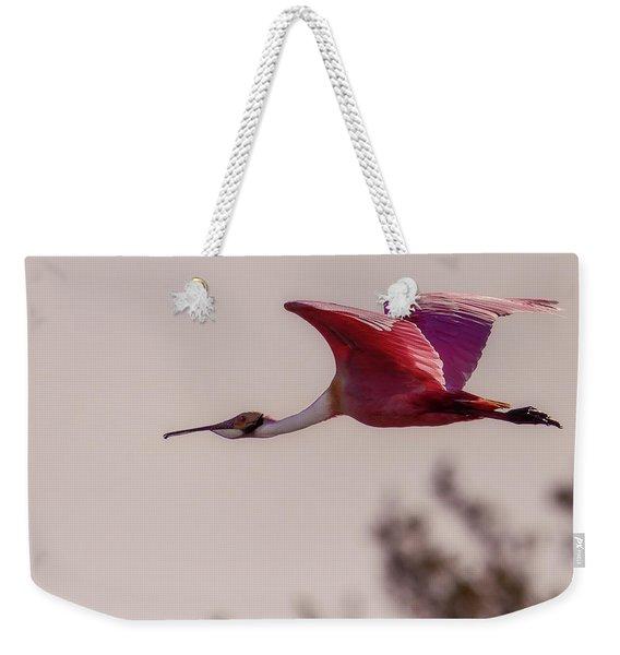 Spoonbill Weekender Tote Bag