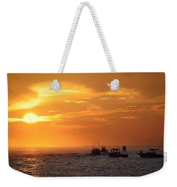 Sportfishermen Head Offshore Weekender Tote Bag