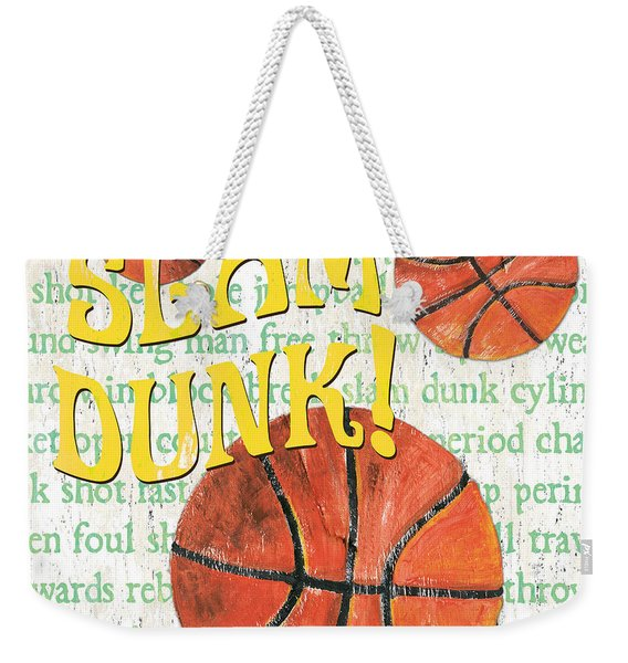 Sports Fan Basketball Weekender Tote Bag