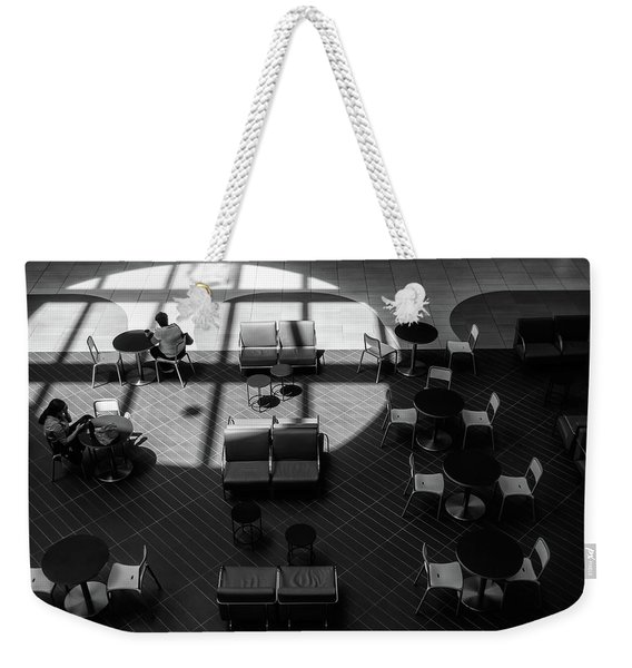 Weekender Tote Bag featuring the photograph Spotlight by Eric Lake