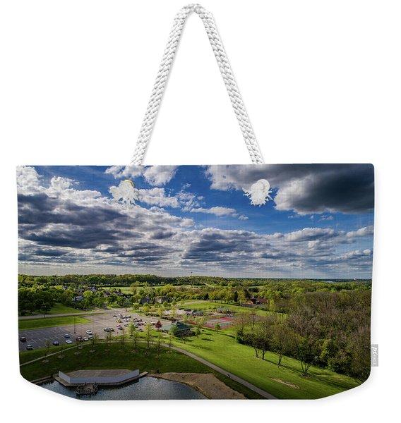 Spotlight On The Park Weekender Tote Bag