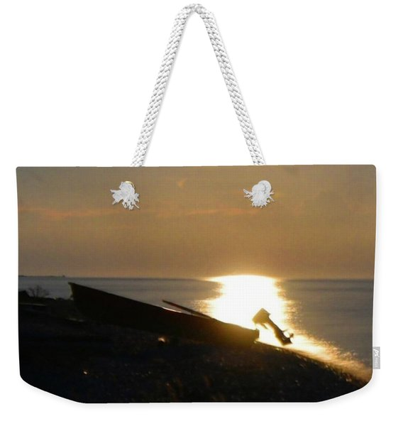 Spotlight The Boat Weekender Tote Bag