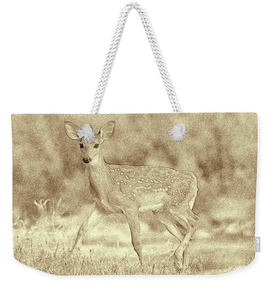 Spotted Fawn Weekender Tote Bag