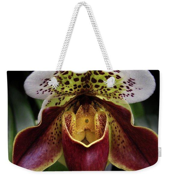 Spotty Orchid Weekender Tote Bag