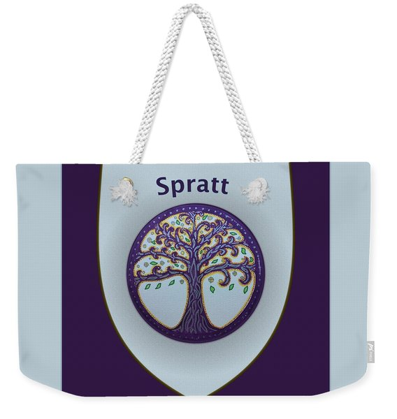 Spratt Family Crest Weekender Tote Bag