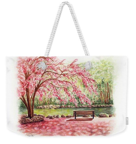 Spring At Lithia Park Weekender Tote Bag