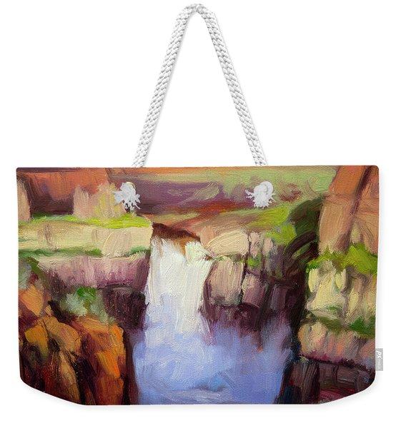 Spring At Palouse Falls Weekender Tote Bag