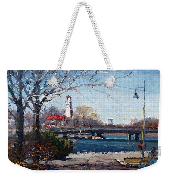 Spring At Port Credit Weekender Tote Bag