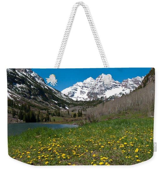 Spring At The Maroon Bells Weekender Tote Bag