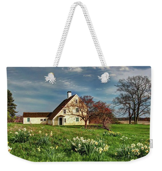 Spring At The Paine House Weekender Tote Bag