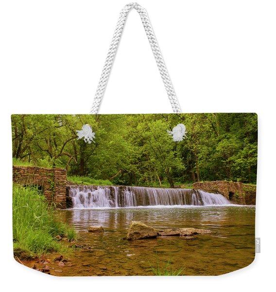 Spring At Valley Creek Weekender Tote Bag