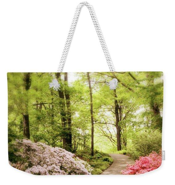 Spring Azaleas  Weekender Tote Bag
