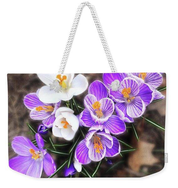 Spring Beauties Weekender Tote Bag