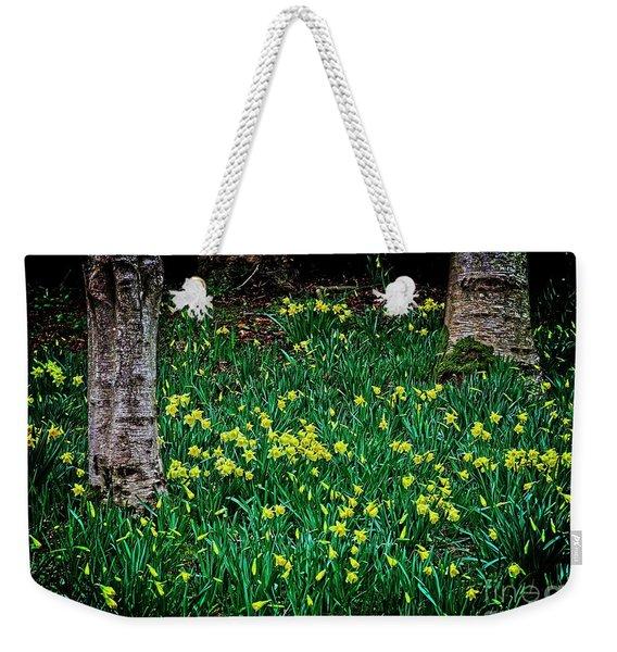 Spring Daffoldils Weekender Tote Bag