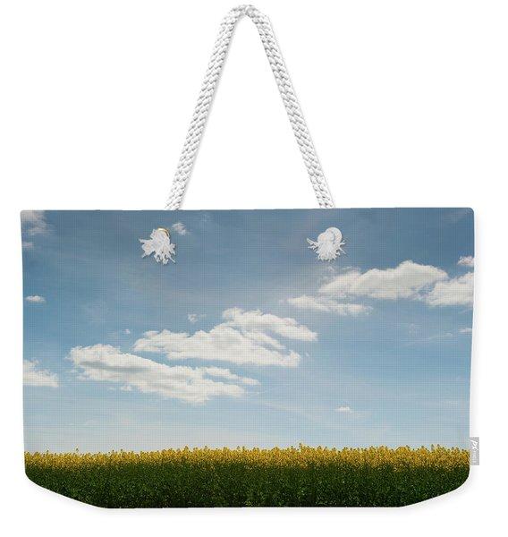Spring Day Clouds Weekender Tote Bag