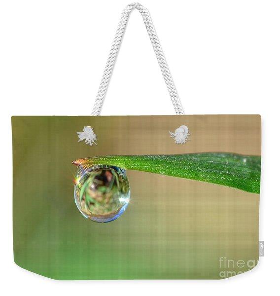 Spring Dew Weekender Tote Bag