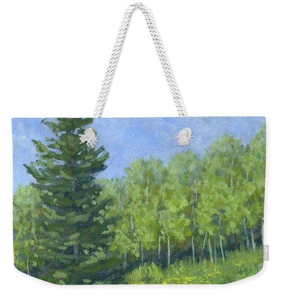 Spring Evergreen Weekender Tote Bag
