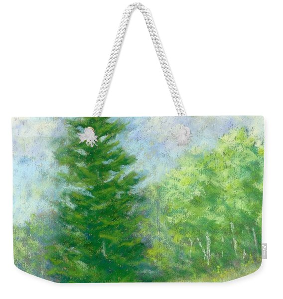 Spring Evergreen Study Weekender Tote Bag