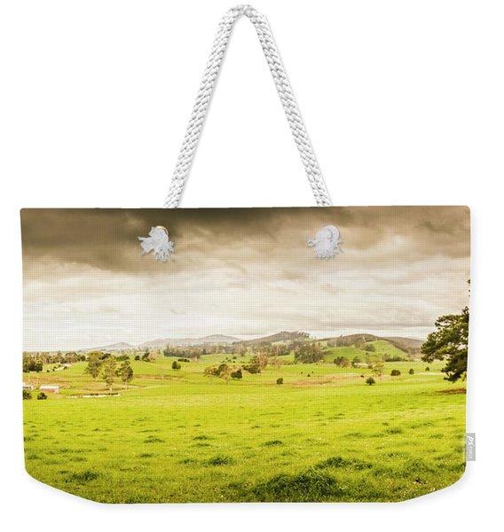 Spring Field In Springfield Weekender Tote Bag