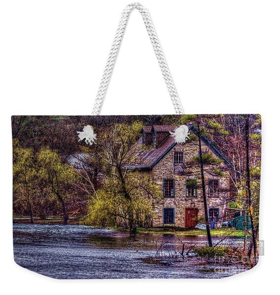Spring Flood Weekender Tote Bag