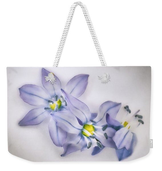 Spring Flowers On White Weekender Tote Bag