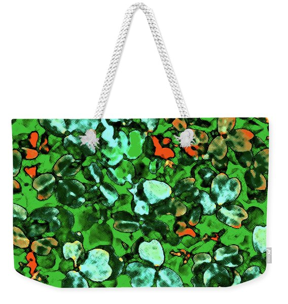 Spring Foiliage Weekender Tote Bag