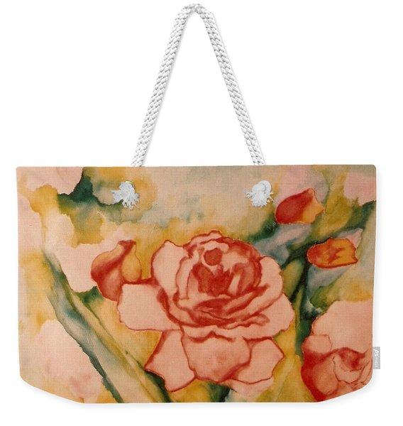 Spring Garden Weekender Tote Bag