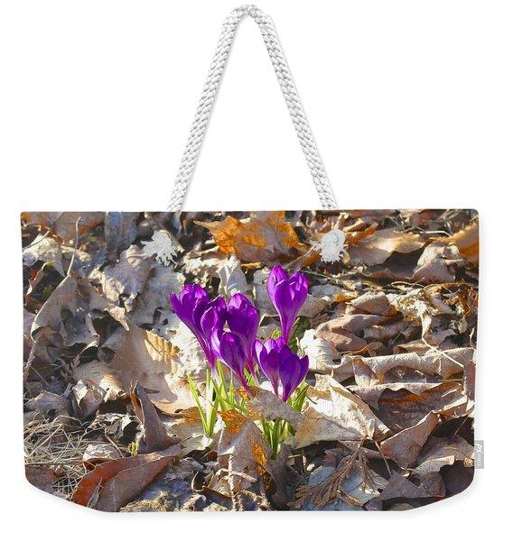 Spring Gathering Weekender Tote Bag