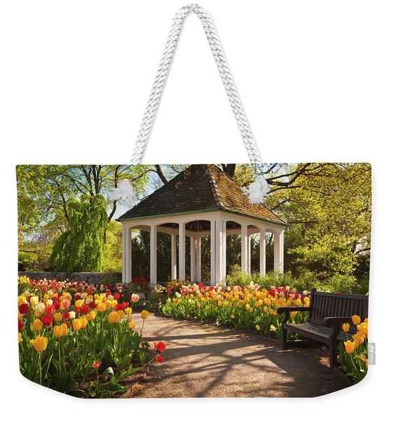 Spring Gazebo Weekender Tote Bag