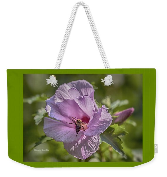 Spring Happy Dance Weekender Tote Bag