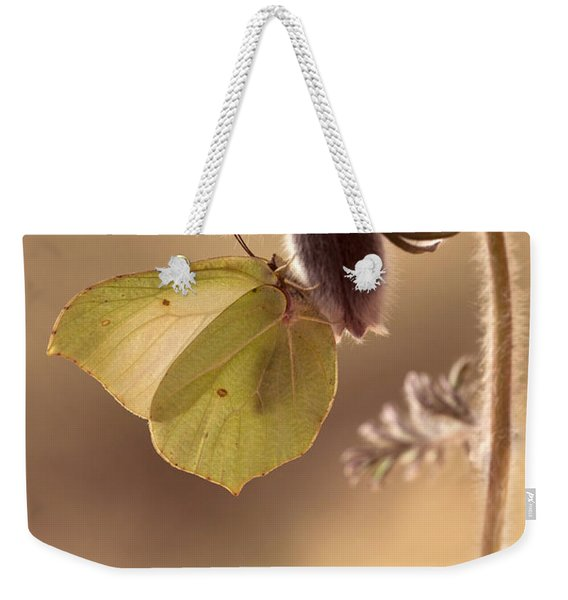 Spring Impression With Pasque Flower Weekender Tote Bag