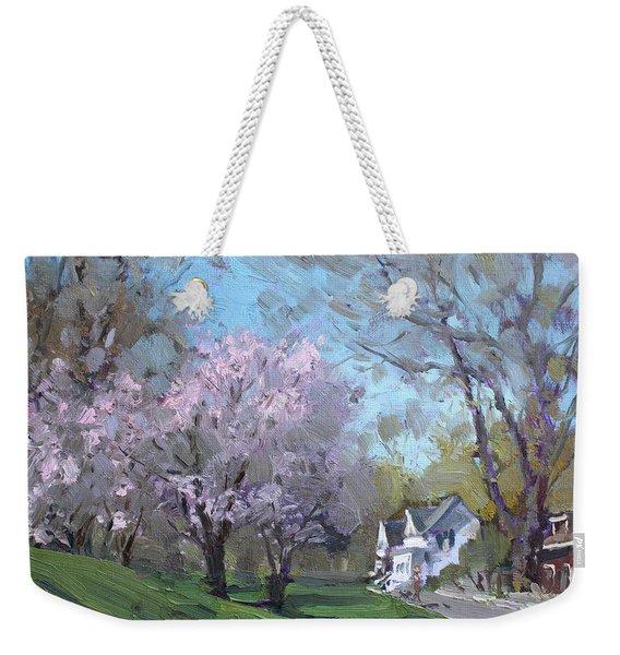 Spring In J C Saddington Park Weekender Tote Bag