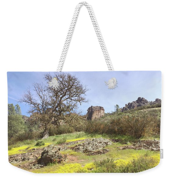 Spring In Pinnacles National Park Weekender Tote Bag