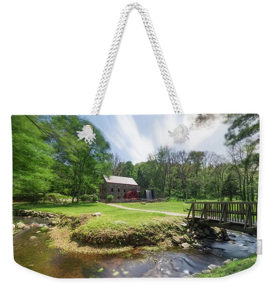 Spring In Sudbury Weekender Tote Bag