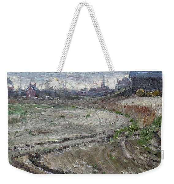 Spring In The Farm Weekender Tote Bag