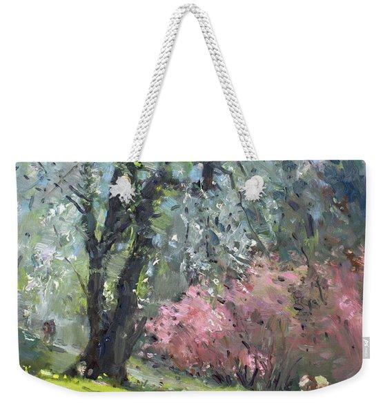 Spring In The Park Weekender Tote Bag