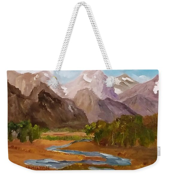 Spring In The Tetons Weekender Tote Bag