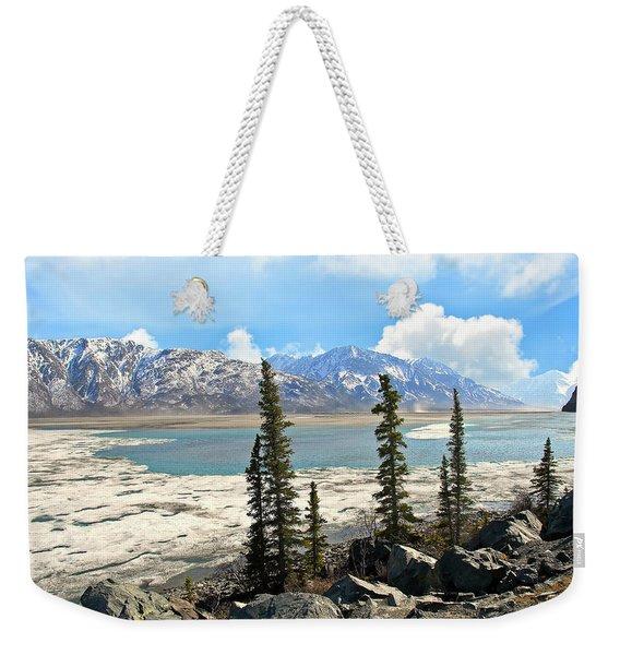 Spring In The Wrangell Mountains Weekender Tote Bag