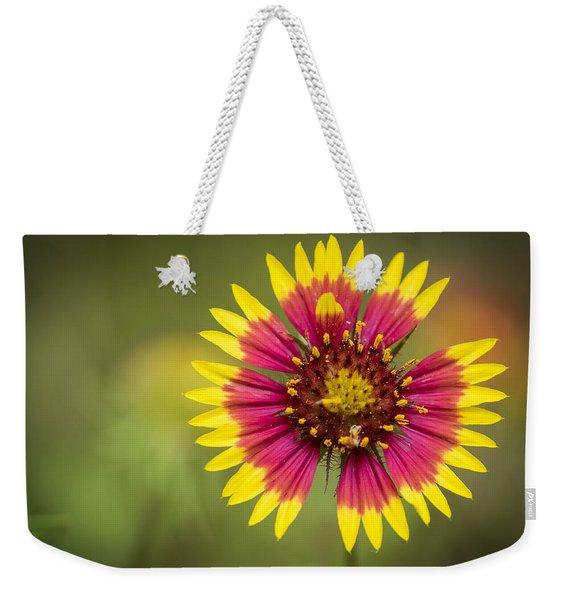 Spring Indian Blanket Weekender Tote Bag