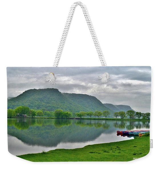 Spring Lake Weekender Tote Bag