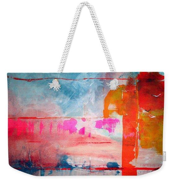 Spring Light North Wind Weekender Tote Bag