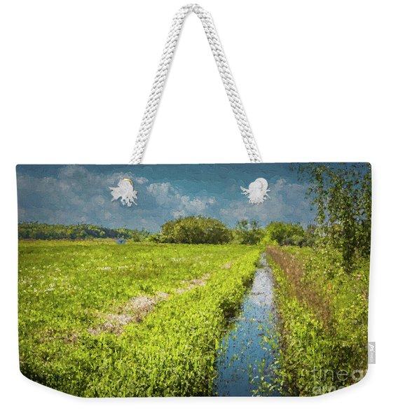 Spring Meadows Weekender Tote Bag